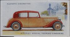 No.41 SIDDELEY SPECIAL TOURING LIMOUSINE - MOTOR CARS 2nd SERIES - Player 1937