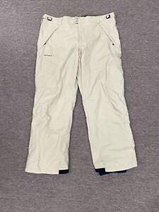Light Beige Men's Columbia Convert Pants Size 2XL Snowboarding