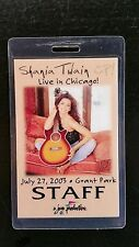 Shania Twain Laminate 7/27/2003 Chicago Grant Park Staff Make An Offer!