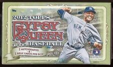2012 Topps Gypsy Queen HOBBY Box 2 Autos (Sandy Koufax Hank Aaron Griffey)?