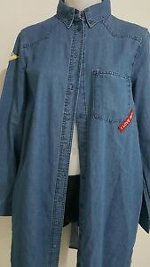 ZARA Blue DENIM SHIRTS DRESS, SMALL $69.00 New without Tags. SOLD OUT EVERYWHERE