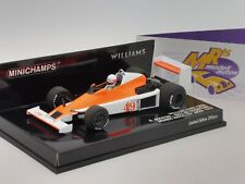 Minichamps 410790049 # Williams FORD FW06 F1 1979 G. Agostini Brand Hatch 1:43