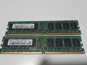 M378T2953BG0 Samsung 8gb (8x1gb) DDR2 Desktop 2RX8 PC2-3200U-333-10 RAM Memory