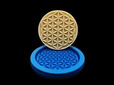 Flower of Life, silicone mold, 80mm