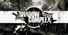 SHADOW COMPLEX REMASTERED - Steam chiave key Gioco PC Game - Free shipping - ROW