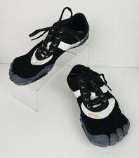 Vibram 5 Fingers Toe Speed 43 Men's US 10 Black Lace up Barefoot Running