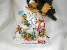 Cherished Teddies Winter LE Signing Event 2011  NIB SIGNED