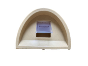 ONLY £61 OUTDOOR CAT KENNEL / SHELTER WATERPROOF  PLASTIC CAT HOUSE+ FLAP