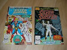 Silver Surfer Annual #1 (1988) Annual #2 (1989) Giant Sized Marvel Comics