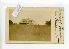 New Canaan CT Conn Marshall Farms, home, RPPC real photo, 1912