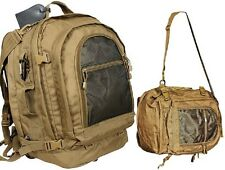 Tactical Move Out Bag & Travel Bag XLarge Backpack Coyote Brown Bug Out Bag 2297