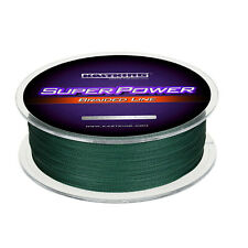 KastKing SuperPower 547Yds 50lbs Braided Line Green Braid Fishing Line