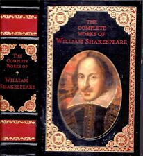 1994 FINE BINDING COMPLETE WORKS OF WILLIAM SHAKESPEARE ILLUSTRATED GIFT IDEA