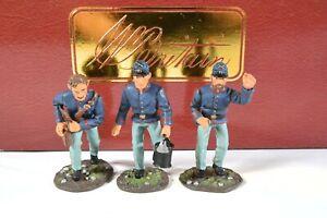 "BRITAINS 17530 AMERICAN CIVIL WAR ""UNION ARTILLERY MEN"" 54mm Miniatures"