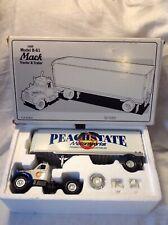 1ST Gear 1:34 Diecast 1960 Model B-61 Mack Tractor Trailer Semi Truck PEACHSTATE