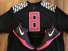 Oregon Ducks Breast Cancer Awareness BCA Nike Trainer sz 10.5 SRP $120