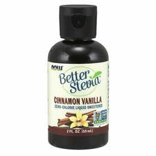 Mieux Stevia Liquide Édulcorant Cannelle Vanille 2 Fl OZ