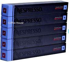 50 New original Nespresso Decaf Vivalto Lungo flavour coffee Capsules Pods UK