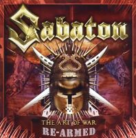"SABATON ""THE ART OF WAR"" CD RE-ARMED NEU"