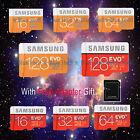 EVO Plus 16G 32G 64G128G Micro SD SDHC SDXC C10 TF Memory Card Samsung Wholesale