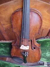 ANTIQUE 4/4 STAINER VIOLIN  OLD FIDDLE c1800 Klingenthal