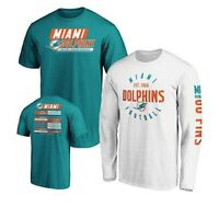 NFL Miami Dolphins Officially Licensed Men's 3 in 1 T-Shirt Combo Set 2019 Aqua