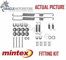NEW MINTEX REAR BRAKE SHOES SET FITTING KIT PIN SPRINGS GENUINE QUALITY MBA698