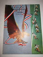 1940 RUTHERFORD H.S. VS. PASSAIC H.S. FOOTBALL PROGRAM - BOX C