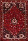 Vintage Geometric Traditional Oriental Area Rug Tribal Handmade Wool Carpet 7x10