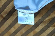 Radisson Brown Tone-on-Tone Stripe Polyester Bed skirt