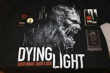Dying Light T-shirt M , 3 Buttons, USB pendrive, Deck of cards