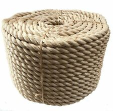 Rope - Synthetic Sisal, Sisal, Sisal For Decking, Garden & Boating, 24mm x 15mts