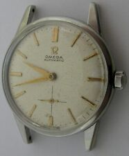 Omega 491 19 jewels stainless steel automatic watch for project or parts ...