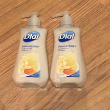 Dial Moisturizing Hand Soap Vanilla  Honey Lot of 2 - 7.5oz Each NEW