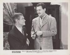 "Paul Kelly, Douglas Fowley in ""The Glass Alibi"" 1946 Vintage Movie Still"