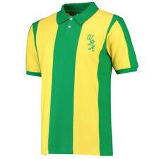 Solo maglia da calcio di squadre internazionali gialli a lunghezza manica manica lunga