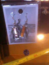 Reflective Izzy Irene Ive Isabella Letter I Initial Earrings New