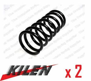 2 x KILEN FRONT AXLE COIL SPRING PAIR SET SPRINGS GENUINE OE QUALITY - 12152