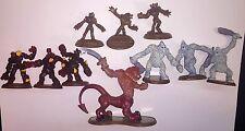 Heroscape Figure Dzu-Teh Thaelenk Tundra Obsidian Guard Brunak Anubian Wolves