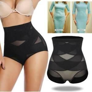 Women High Waist Slimming Tummy Control Knickers Shaper Briefs Underwear Panty