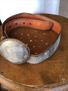 snake skin belt and buckle?