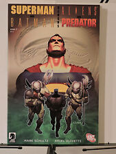 Superman and Batman vs. Aliens and Predators #1-2 (Mar 2007, DC / Dark Horse)