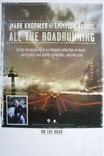 "MARK KNOPFLER & EMMYLOU HARRIS ""ALL THE ROADRUNNING"" U.S. PROMO POSTER (Small)"