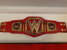 WWE MINI RAW 25 Years Commemorative Replica Championship Title Belt WWF WCW ECW