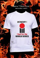 b711484bcc9 WORLD SERIES CRICKET HOWZAT 70s Retro Vintage Classic T SHIRT FREE DELIVERY