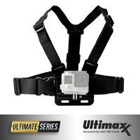 Chest Body Strap Mount Adjustable Belt for Action Camera GoPro HERO9 8 7 6 5 4 3