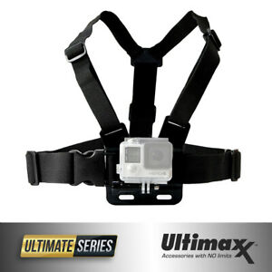 Chest Body Strap Mount Adjustable Belt for Action Camera GoPro HERO9 8 7 6 5 4 3