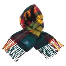 Scottish 100 % Lambswool Tartan Clan Scarf Buchanan Modern Brand New