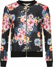 Polyester Long Sleeve Machine Washable Floral Tops & Blouses for Women