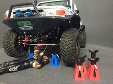3D Printed 1/10 scale JACK/AXLE STAND Adjustable to suit SCX10 Axial HPI Vaterra